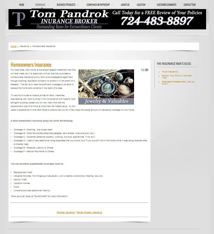 Tom Pandrok Agency